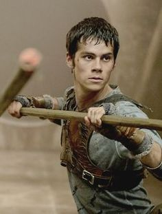 Dylan O'Brien as Thomas  - #TheScorchTrials