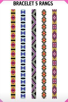 Loom Bracelet Patterns, Seed Bead Patterns, Bead Loom Bracelets, Beading Patterns, Handmade Wire Jewelry, Beaded Jewelry Designs, Seed Bead Jewelry, Bead Jewellery, Bead Loom Designs