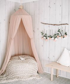 This Realistic Shiplap Wallpaper can add subtle warmth authentic rustic charm to your interior. Grab your sample today. But Now Pay later with Afterpay! Cute Girls Bedrooms, Girls Flower Bedroom, Girls Pink Bedroom Ideas, Girls Bedroom Decorating, Toddler Bedroom Ideas, Rustic Girls Bedroom, Pastel Girls Room, Modern Girls Rooms, Vintage Girls Rooms
