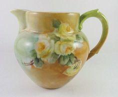 1901 JP Limoges France Porcelain..the older pieces remind me of my grandmother's art.