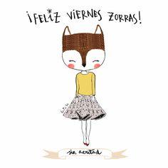 Lucía Be: Feliz viernes, zorras