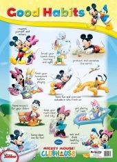 """Decorate your classroom wall with this cute and educational poster about """"Good Habits"""". Kindergarten Lesson Plans, Classroom Walls, Good Habits, Entry Level, Homeschool, Teaching, How To Plan, Education, Charts"""