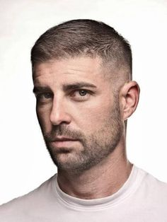 The fade haircut is characterized by subtle, gradual decreases in hair length, usually starting from the relatively longer top to the shorter sides in the