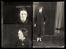 AUSTRALIAN MUGSHOTS | Alice Sandford, 7 August 1925 | State Reformatory for Women, Long Bay, NSW | Many women, like Alice Sandford, capitalized on laws restricting the sale of alcohol after 6 PM by setting up 'sly-grog shops': premises in which alcohol was sold illegally at exorbitant prices. The details of Sandford's conviction have been lost. DOB: 1889=s Age 36