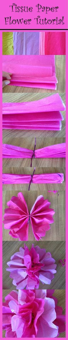 How to Make Tissue Paper Flowers for Dia de los Muertos | Best Kid's Crafts and Activities