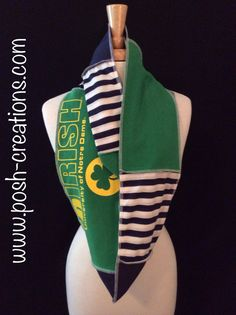 Notre Dame Infinity Scarf on Etsy, $32.00