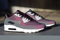 Nike Air Max 90 Jacquard. Love the different patterns and materials being used for the classic model.