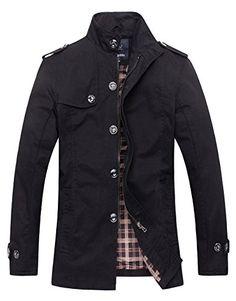 Wantdo Men's Cotton Stand Collar Windbreaker Jacket US XX... https://www.amazon.com/dp/B01GCTAMWI/ref=cm_sw_r_pi_dp_x_rng7xbMBEXNXP