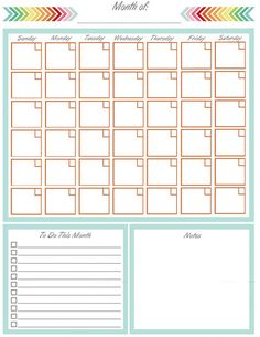 Create your perfect home management binder with these free planner printables. Organize your entire home, life, and family with a diy home management or family binder. Blank Calendar, Free Printable Calendar, Printable Planner, Free Printables, Yearly Calendar, Print Calendar, Free Planner, Planner Pages, Week Planer