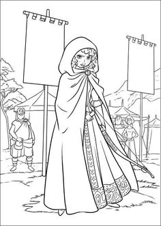 Brave Coloring Page 31 Is A From BookLet Your Children Express Their Imagination When They Color The