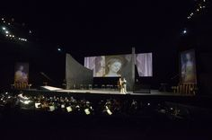 Tosca at the Puccini Festival, 2013. In over seventy years of the Festival, the stage at Torre del Lago has hosted some of the most acclaimed names of world of opera.