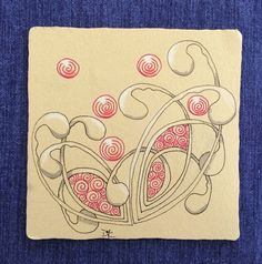 MainelyTangles: Weekly Challenge #173: Redux, Remix, Revisit Your Comfort Tangle