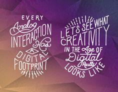 Adobe Summit Key Note Typographic Set | Nicholas D'Amico