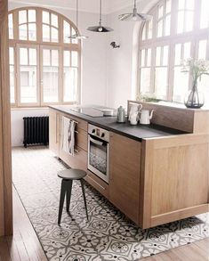 Kitchen Tile 'Rug'