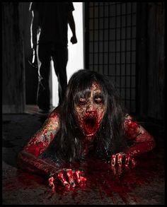 Horror Blood Guts n Gore Horror Photography, Dark Photography, Macabre Photography, Creepy Horror, Creepy Art, Funny Horror, Arte Horror, Horror Art, Paranormal