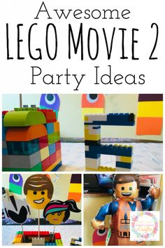 Give your child an awesome LEGO Movie 2 party. These LEGO Movie 2 Party Ideas are fun and practical for everyone. Everything is awesome! #LEGOBirthday #LEGOMovie2Birthday #LEGOMovie2PartyIdeas #LEGOPartyIdeas