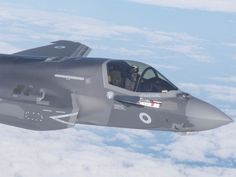 New RAF jets to be sent to Cyprus base after being declared 'combat ready' — Sky News Modern Fighter Jets, F35 Lightning, Norwegian Air, Italian Air Force, Royal Australian Air Force, Sky News, Royal Navy, Battleship, Self Defense