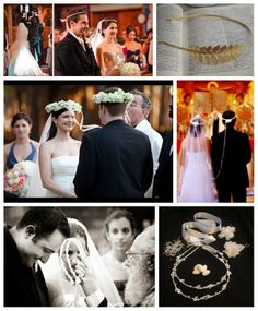 Wediquette and Parties: Across the Board: Greek Wedding Traditions (Part 1)- Stefana & More
