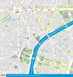 printable travel maps of paris france