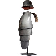Rare WW1 Lobster Tail Armor | From a unique collection of antique and modern curiosities at http://www.1stdibs.com/furniture/more-furniture-collectibles/curiosities/