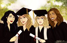 Graduation day! (Gallagher girls)