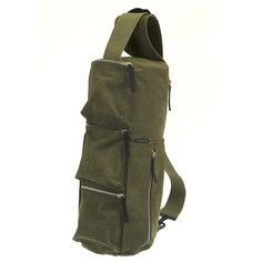 Ninja Crossbody Bag Khaki by Hideo Wakamatsu