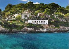 Mallorca, Spain If you insist. Coastal Homes, Coastal Living, Knight Frank, Mallorca Beaches, Exotic Homes, Barcelona, Beachfront House, Exotic Beaches, Beaches In The World
