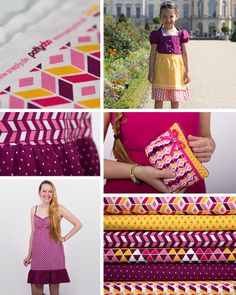 Geometric Fever - fabric collection by snaply & pattydoo