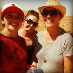 On top of Big Red Birdsville 2015!!   #bigred #birdsville #birdsvilleraces #sisters #fun #sand #desertrat #simpsondesert by maidiedawson