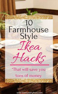 10 Farmhouse Style Ikea Hacks That Will Save You Tons of Money ., 10 Farmhouse Style Ikea Hacks That Will Save You Tons of Money … , 10 Farmhouse Rustic Farmhouse Decor, Farmhouse Style Decorating, Decorating Your Home, Rustic Decor, Red Farmhouse, Decorating Ideas, Farmhouse Windows, Farmhouse Plans, Vintage Farmhouse