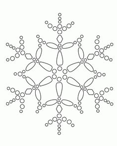 snowflake | snowflake coloring pages free | find the latest news ... - Christmas Snowflake Coloring Pages