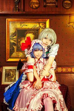 Remilia Scarlet & Izayoi Sakuya cosplay