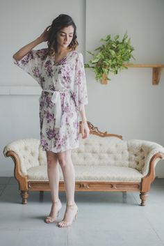 lilac bridesmaid robes - 700×1049