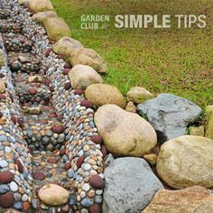 Drainage Problems? Grading Is The Solution. | Garden Club