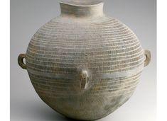 korean art three kingdoms | Jar, Korea, Three Kingdoms period, Gaya region, 4th centuryStoneware ...