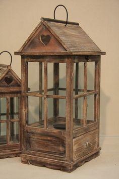 Casa dei sogni Easy Small Wood Projects, Scrap Wood Projects, Woodworking Projects That Sell, Fairy Lanterns, Wooden Lanterns, Candle Lanterns, Decor Crafts, Wood Crafts, Vasos Vintage