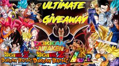 50 Thousand Subscribers Special Dokkan Battle Giveaway JP and Global Tha...