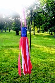 DIY under $10: patriotic wind sock