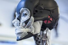 Adam Savage gets up close with the one-of-a-kind endoskeleton Weta Workshop made for the upcoming Ghost in the Shell. Chatting with Weta Workshop . Masamune Shirow, I Robot, Ghost In The Shell, Mega Man, Live Action, Cyberpunk, Futuristic, Skeleton, Science Fiction