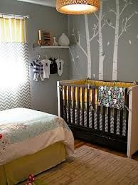 Boy And Girl Shared Yellow And Gray Room For Becky Nursery