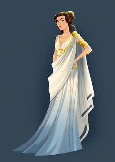 Zimmerman - daryshkart: princess Leia as Greek goddess for. Greece Goddess, Greek Goddess Dress, Gaia Goddess, Ancient Greek Dress, Ancient Greek Clothing, Ancient Greece Fashion, Greek Fashion, Greek Inspired Fashion, Greek Mythology Art