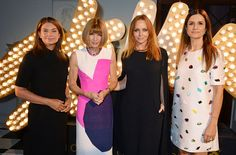 Fashion Queen: Vogue's Editor-in-cheif Anna Wintour made time for the Stella McCartney¿s G...