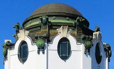 Wien - Stadtbahn Hietzing d Art Nouveau Architecture, Art And Architecture, U Bahn Station, Otto Wagner, White City, Belle Epoque, Prague, Austria, Townhouse