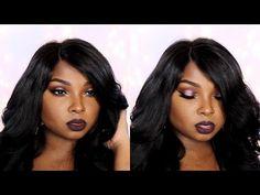 """Fall Barbie Make Up Full Face """"One Brand"""" tutorial ft. Diamond Virgin Hair Co. - YouTube"""