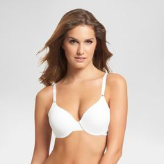 Warner's Simply Perfect No Poke Underwire Bra - 40C White