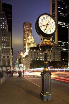 The Sherry-Netherland Hotel Clock - New York City, New York