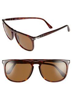 Persol 57mm Polarized Sunglasses