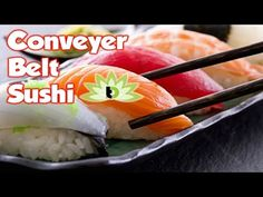 Conveyor Belt Sushi Adventure ~ Self Ordering, Fast Delivery, Food Heaven - YouTube