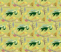 skunky wonderland fabric by junej on Spoonflower - custom fabric