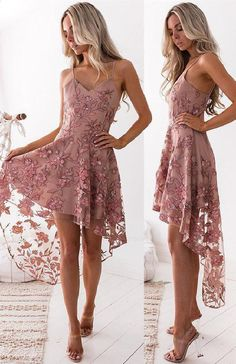 Sexy Straps High Low Blush Pink Short Party Dresses Pink Party Dresses, Sexy Party Dresses, Party Dresses Short, Blush Party Dresses, Party Dresses Hi. Blush Pink Bridesmaid Dresses, Pink Party Dresses, Hoco Dresses, Lace Evening Dresses, Sexy Party Dress, Sexy Dresses, Blush Pink Short Dress, High Low Bridesmaid Dresses, Pink Lace Dresses